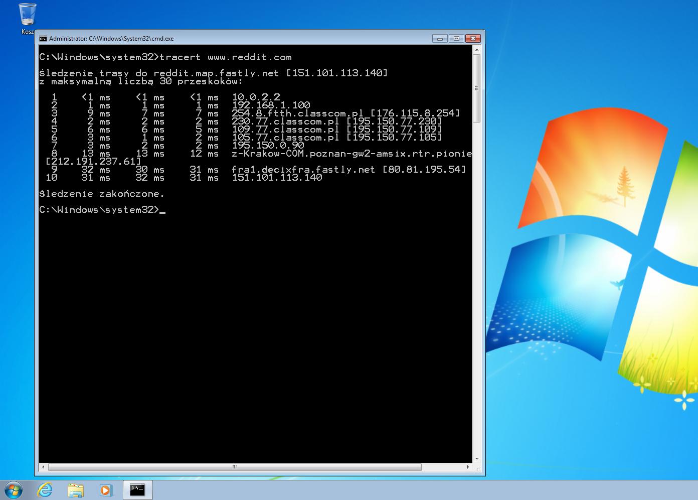 Windows Polecenia Cmd Informatykedupl Technik